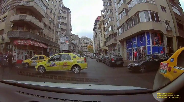 Accident taximetrist