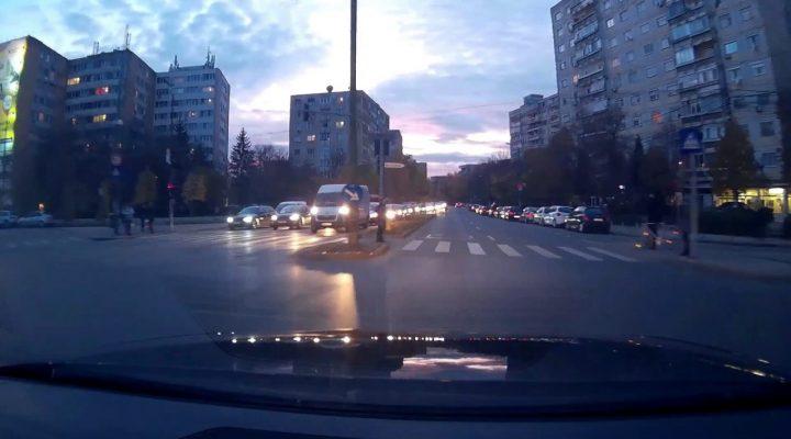 Timisoara / idiotenii din trafic