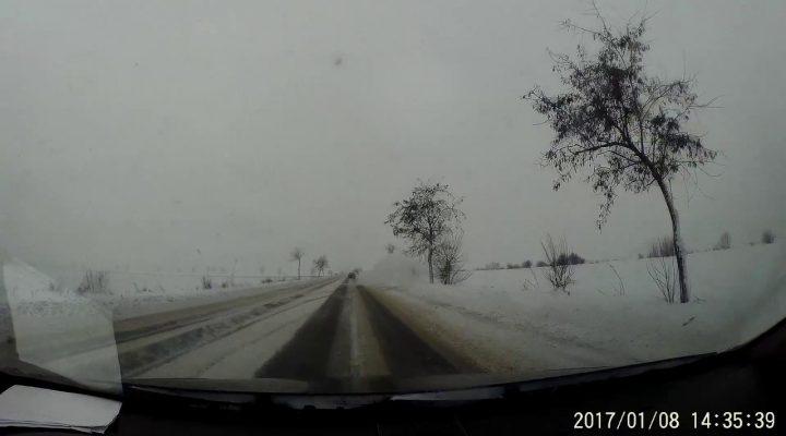 Accident E85 Urziceni-Bucuresti