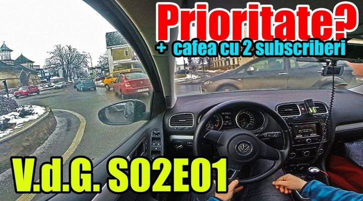Prioritate? + 2 intrepizi (Vlog din Golf S02E01)