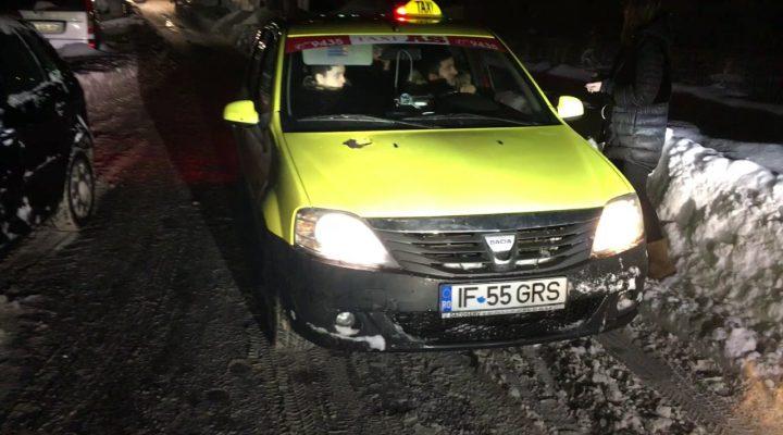 Taximetrist blocheaza traficul intentionat pe o strada din Bucuresti – 11-01-2017
