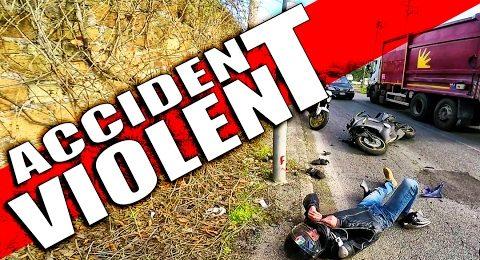 ACCIDENT VIOLENT! Yamaha R6 vs Fiat Panda FULL CRASH Footage