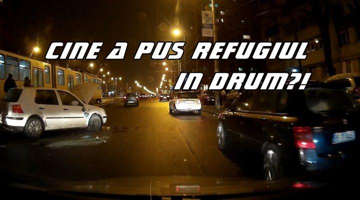 De prin trafic Ep. 12 Cine a pus refugiul in drum?!