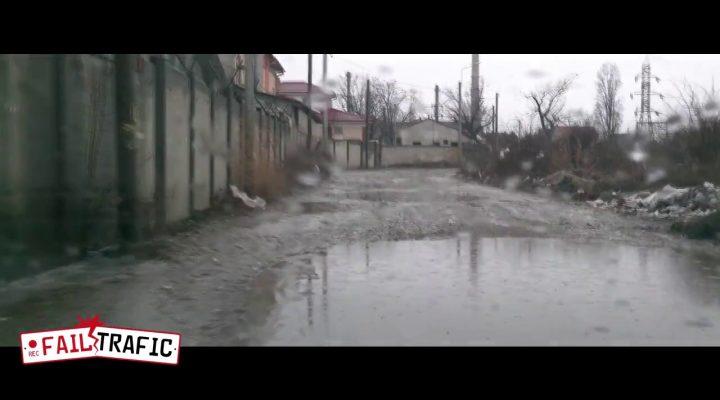 Drumul către Portul Comercial Drobeta Tr.Severin