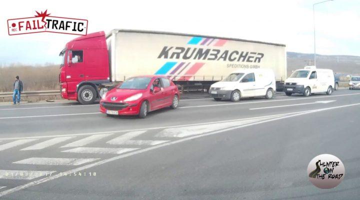 dupa accident MOTO! Centura Sibiu