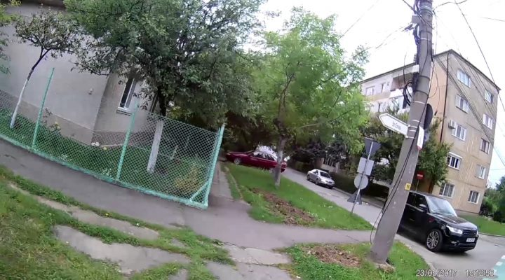 Mini road rage – Timisoara