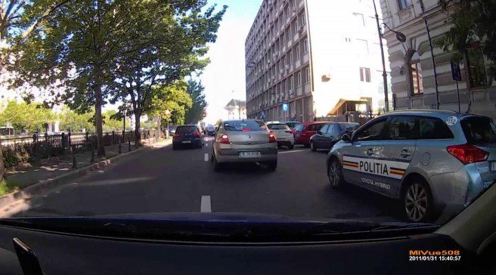 Road Rage cu Politia Rutiera