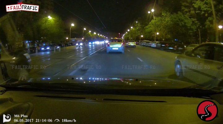 Roadrage cu taximetristul roman