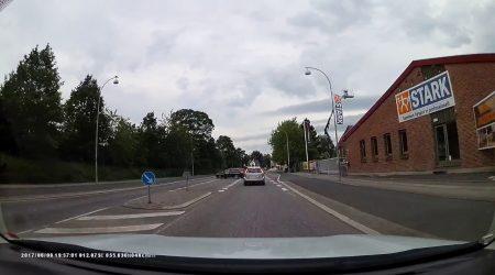 Intamplari din trafic #1 Copenhaga