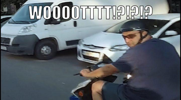 Atentie la scooter!