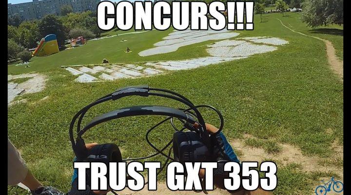 O mica plimbare si concurs casti de gaming cu vibratie Trust GXT353!!!