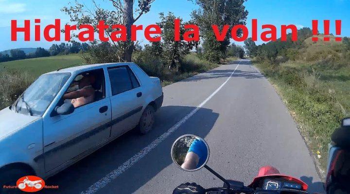 Din trafic #17  – Hidratare la volan