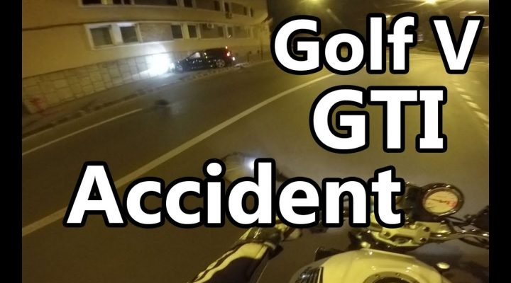 Accident live Golf V GTI