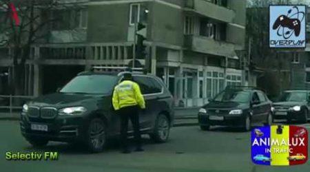 BMW vs Politia Rutiera