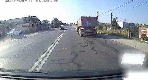 Ce putea provoca un camionagiu