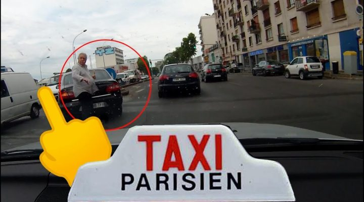 Jeguri pe taxi… în Paris