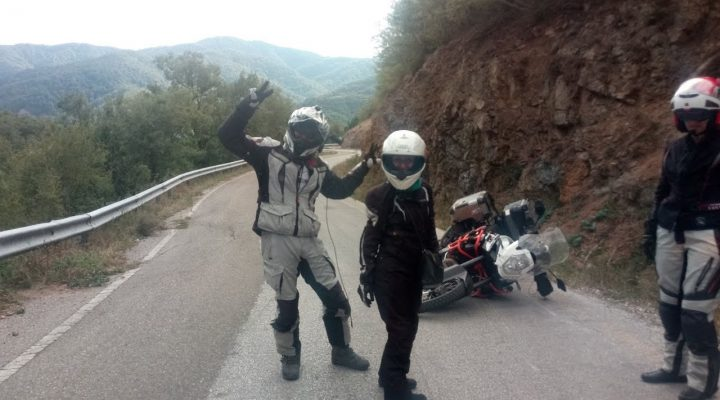 accident KTM 1190 Adventure R