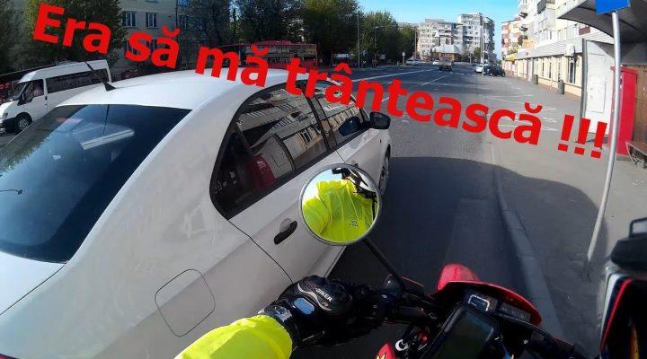 Din trafic # 20 – Era sa ma trântească !!!