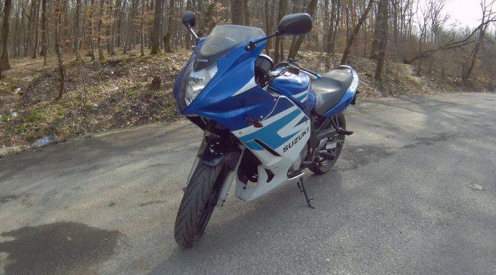 Motocicleta Noua!