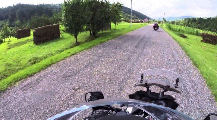 Traseu cu motocicleta prin Romania