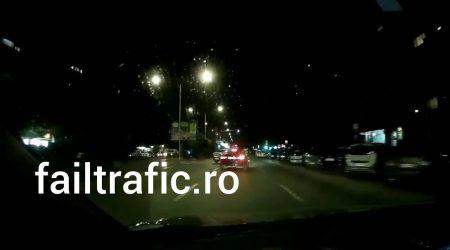 Accident taxi vs persoana care circula pe banda lui