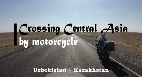 Cu motocicleta in Asia Centrala