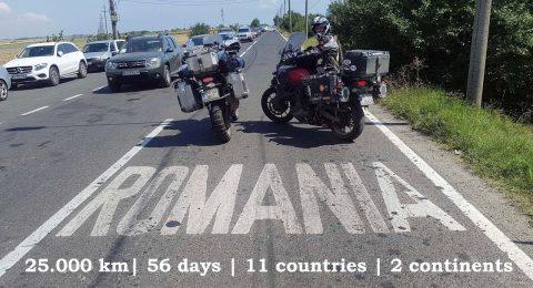Cu motocicleta in Mongolia – intoarcerea