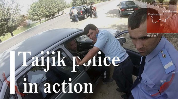 Cum e cu politia prin Tadjikistan