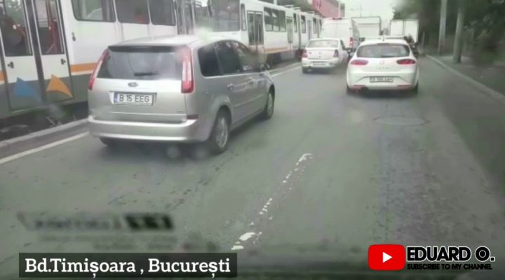 Dupa accident Bd.Timișoara