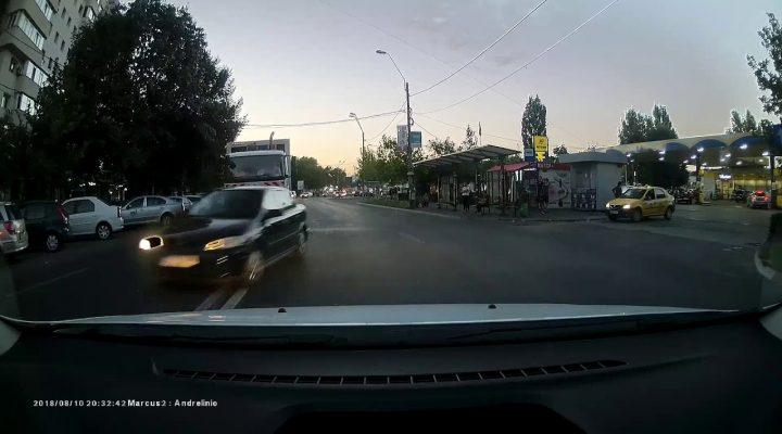 Trebuia întors după el și dat cu capul de volan – București [10.08.2018]
