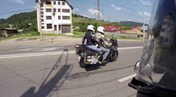Cu motocicleta prin Romania (compilatie)