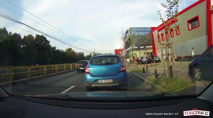 De prin trafic