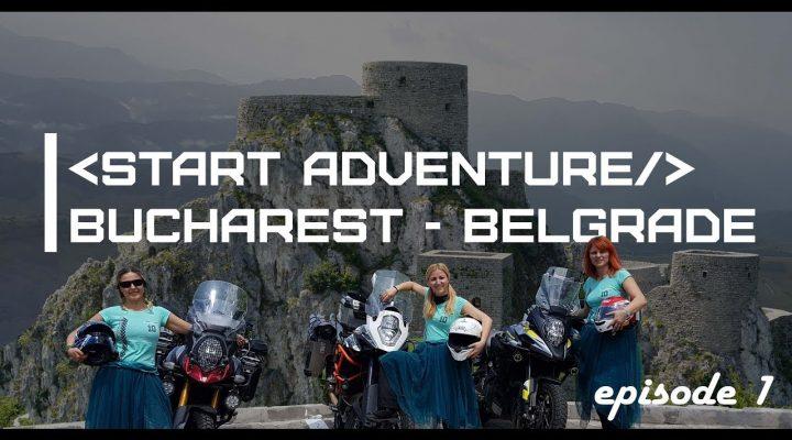 Bucuresti Belgrad cu motocicleta