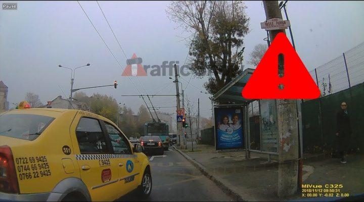 Specimen de taximetrist – Trafic Bucureşti