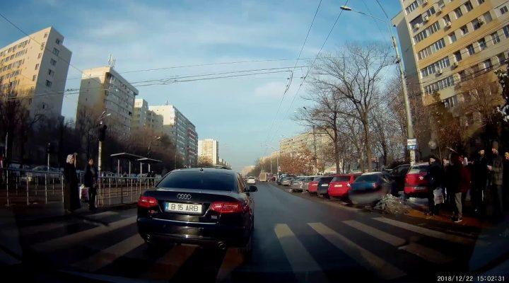 Idiot cu Audi, Bucuresti