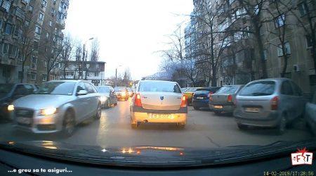 … ceva normal in traficul din Bucuresti #2…