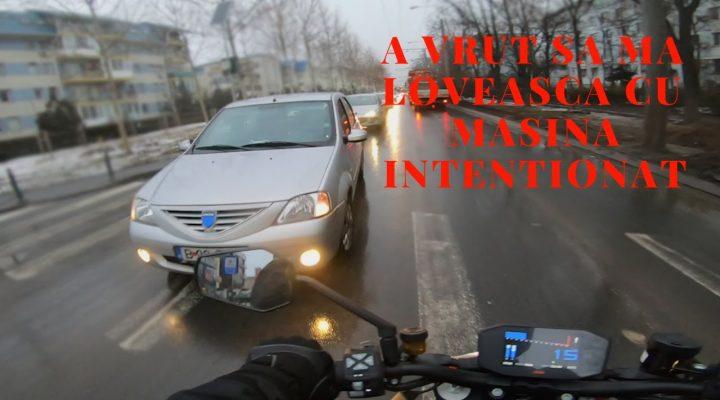 A vrut sa ma loveasca intentionat cu masina + multe faze haioase din traficul din Bucuresti