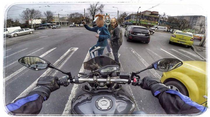 Cum să NU conduci în București!