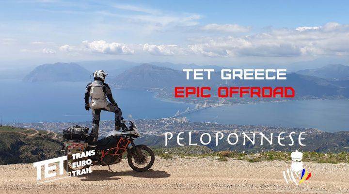 Cu motocicleta in Grecia