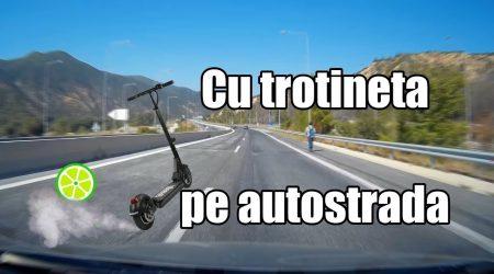 De prin trafic Ep. 28 CU TROTINETA PE AUTOSTRADA