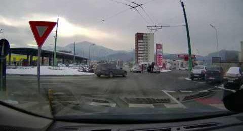 Accident live Brasov