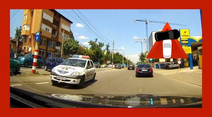 Şoferi pe contrasens – Trafic Bucuresti