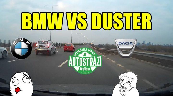 De prin trafic Ep. 31 Testul elanului pe autostrada cu Dacia Duster!