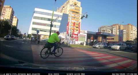 Biciclist sinucigas Brasov