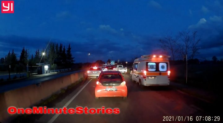 OneMinuteStories(extended):  Zbor prin sens(dupa accident)