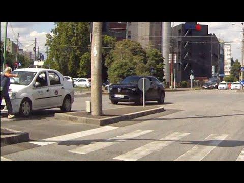 Pieton vs taxi