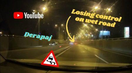 Derapaj necontrolat (Loss of control) – Dashcam #4